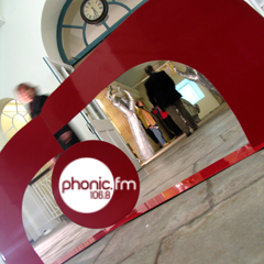 You can listen to the special two hour Exeter Artspace Interview Show on Phonic FM 106.8fm and as a Podcast by clicking under the photo's on this post.