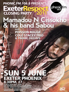 Sun 5 June Exeter Respect after-party