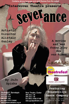 Severance, Cygnet New Theatre, Thursday 28th and Friday 29th June, 7.30pm.