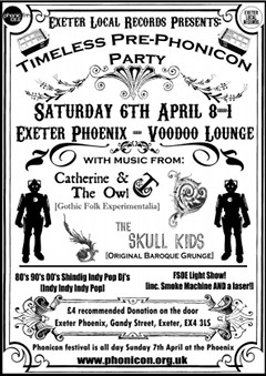 Timeless Pre-Phonicon Party 6th April 2013