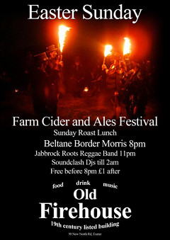 Easter Sunday Music, Cider and Ale Festival at the Old Firehouse