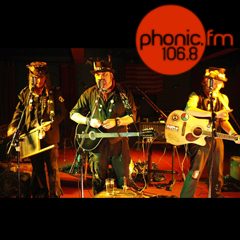 Hobo Jones and the Junkyard Dogs, plus Pyrates, Exetr Phoenix, Thursday 16th May, 8pm