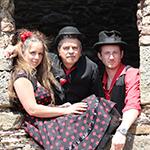 3 Daft Monkeys live, Exeter Phoenix, 28 November