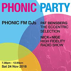 Phonic party, 24 November