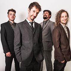The Undercover Hippy + support, live, Wednesday 10 April 2019