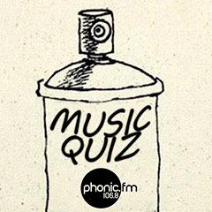 Music quiz, Wednesday 15 May