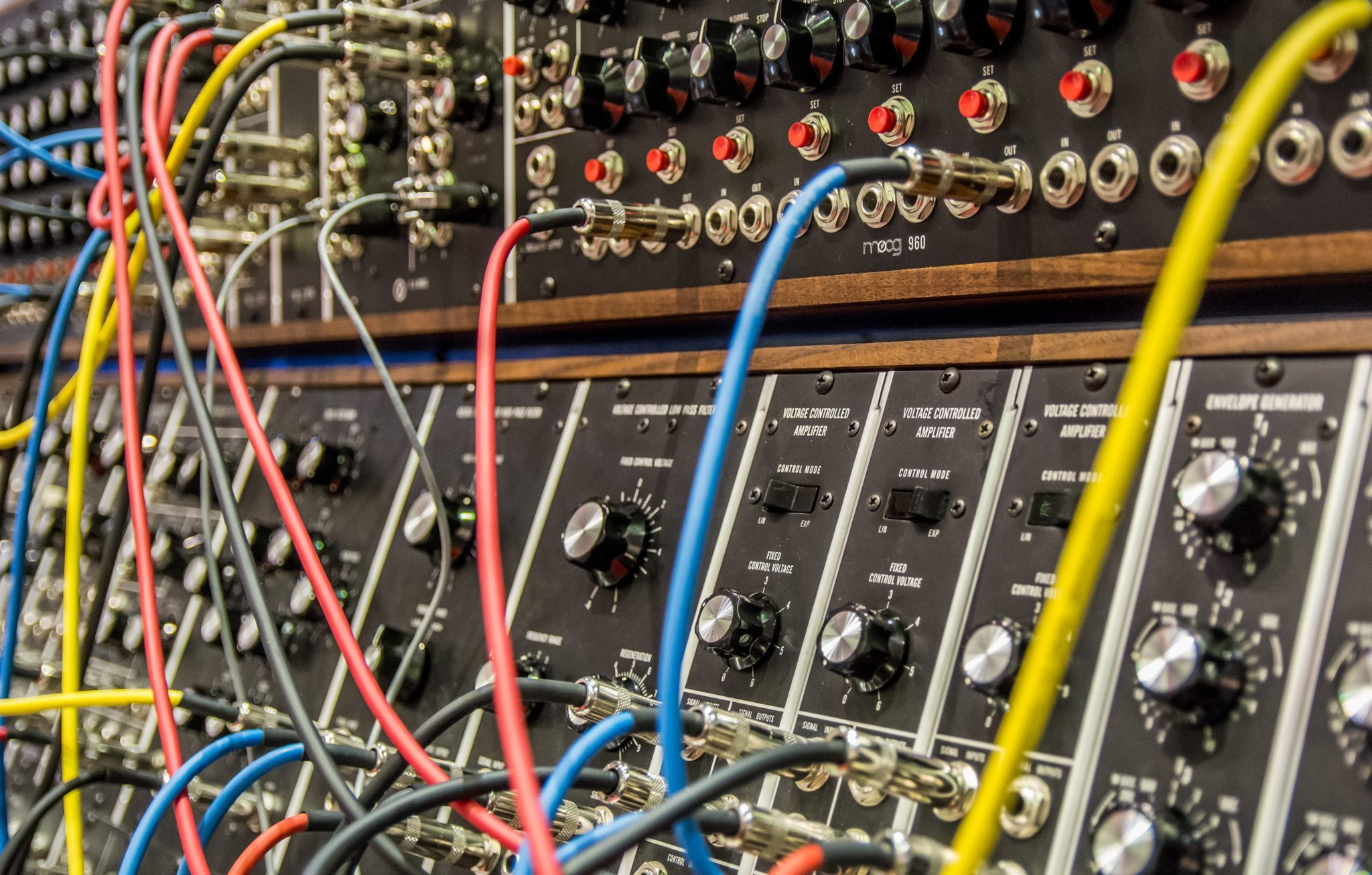 Two Knobs and an Oscillator