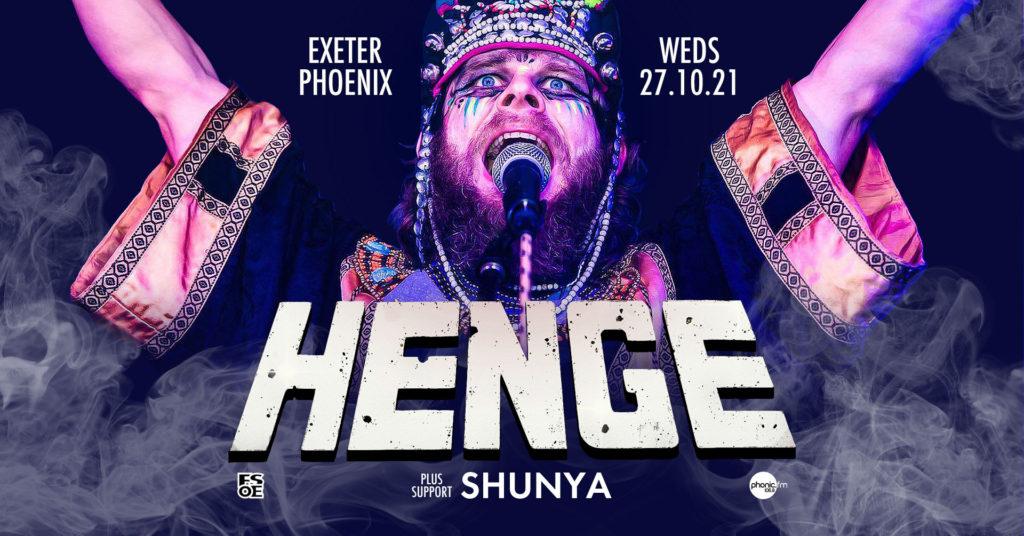 HENGE at Exeter Phoenix
